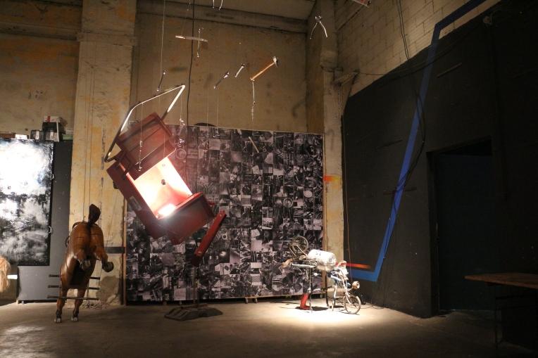 David Gonçalvez à l'Atelier TA pour Bricodrama 2017