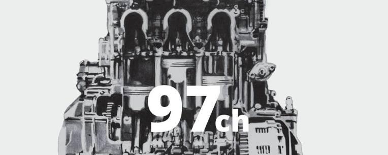 97 ch, visuel de l'exposition d'Amdine Lancelot à l'Atelier TA et à Dirty Seven les 31 mai et 2 juin 2018
