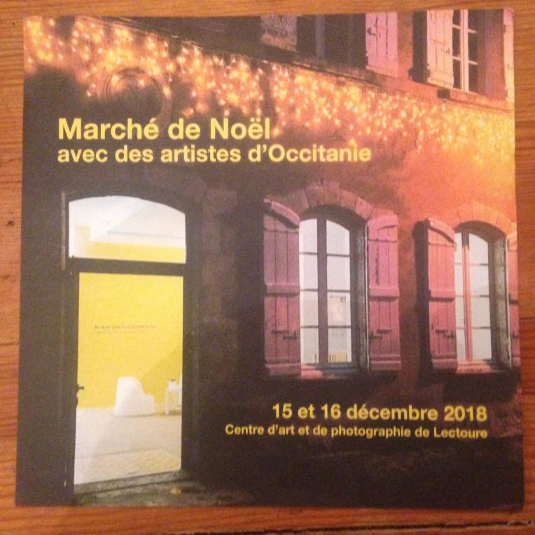 Atelier TA - Lectoure 2018 Marché de Noël
