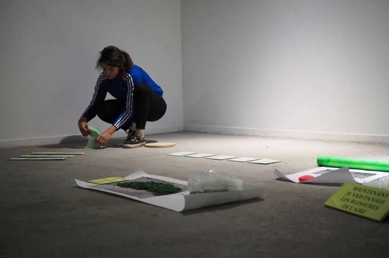 Mélanie Yvon - Atelier TA - Festival La Traversée